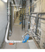 Vacuum Sewer Collection System